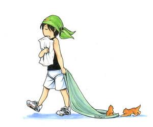anime, kaoru, and snake image