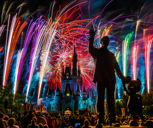 fireworks and disney image