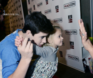 magcon, nash, and grier image