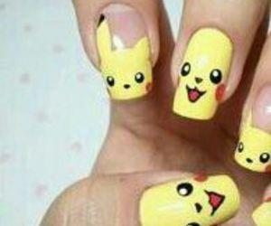 nails, pikachu, and pokemon image