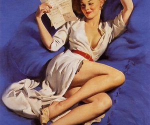 Pin Up, vintage, and sexy image