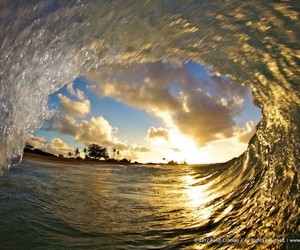summer, sea, and wave image