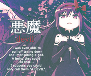 anime, Devil, and magical girl image