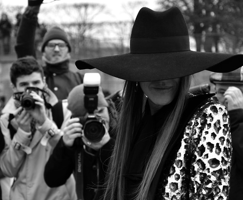 fancy, hat, and paparazzi image