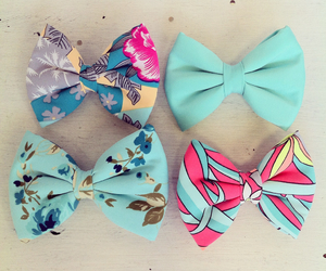 bow, bows, and fashion image