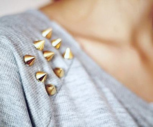 fashion, style, and studs image