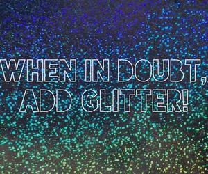glitter and blue image