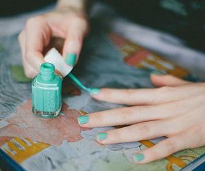 nails, vintage, and nail polish image