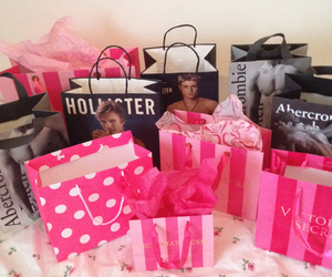 fitch, hollister, and pink image