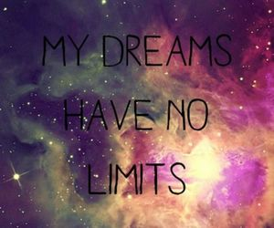 Dream, limit, and galaxy image