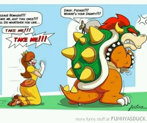 Bowser, dignity, and daisy image