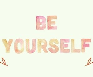 quote, be yourself, and yourself image
