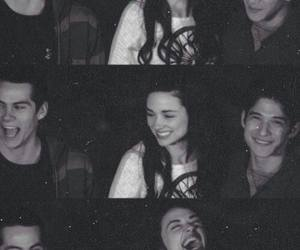 tyler posey, dylan o'brien, and cystal <3 image