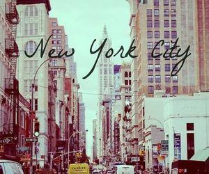 big apple, new york, and city image