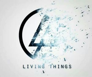 linkin park, living things, and music image