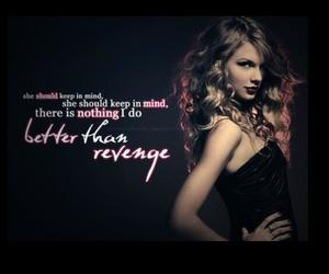 revenge and Taylor Swift image