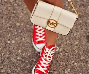 bag, converse, and Michael Kors image