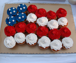 cupcake, usa, and food image