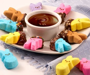 bunnies, candy, and recipe image