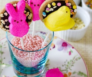 bunnies, easter, and noms image