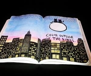 book, moon, and destrua este diario image