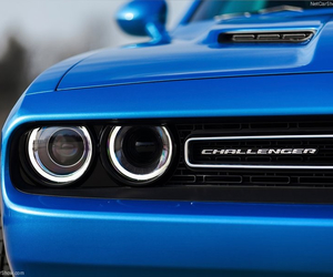 blue, car, and Challenger image