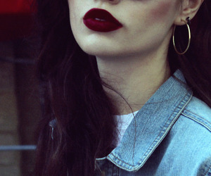 girl and lips image