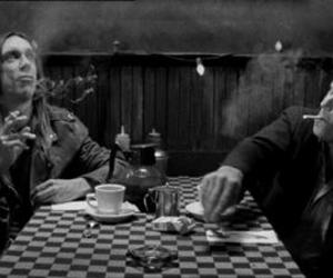 coffee and cigarettes, iggy pop, and tom waits image