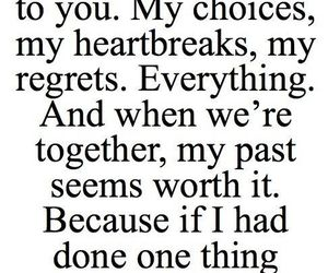 choices, regrets, and love image