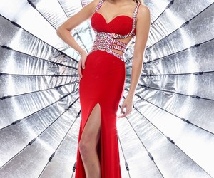 evening gown, fun, and jersey image