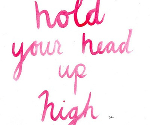 quote, pink, and high image