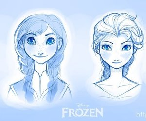 <3, frozen, and inspirations image