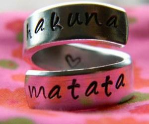 hakuna matata, ring, and disney image