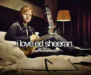 ed sheeran, sheerio, and love image