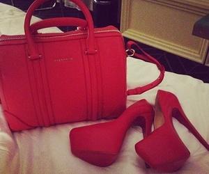 red, fashion, and bag image