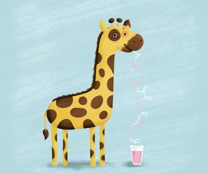 giraffe and cute image