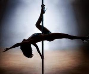 dance, girl, and pole image