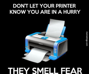 funny, printer, and true image