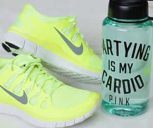 nike, fitness, and shoes image