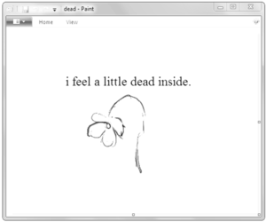 dead, flowers, and sad image