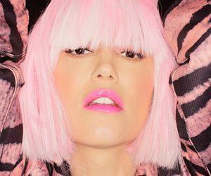 gwen stefani, pink, and lips image