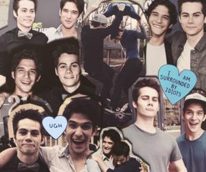 teen wolf, dylan o'brien, and tyler posey image