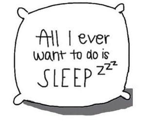 sleep, pillow, and all image