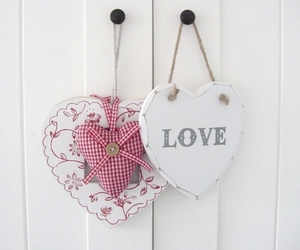heart, hearts, and love image