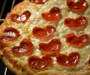 hearts, italy, and mozzarella image