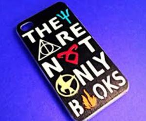 books, harry potter, and iphone image