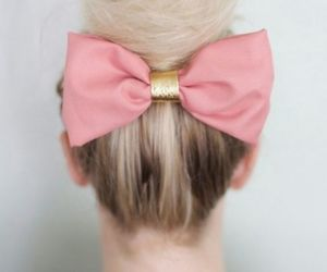 hairstyle, pink, and swag image