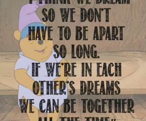 winnie the pooh, Dream, and quote image