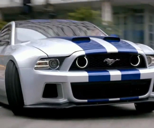 car, mustang, and need for speed image