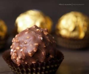 chocolate, ferrero rocher, and delicious image